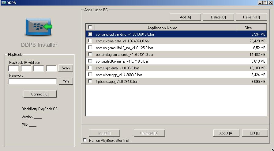 blackberry ddpb installer