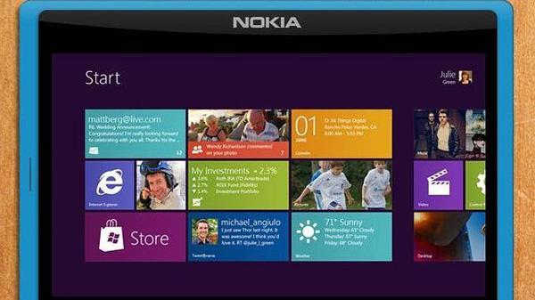 Nokia trabaja en una nueva tableta con Windows RT